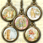 Peter Rabbit Mirror Images