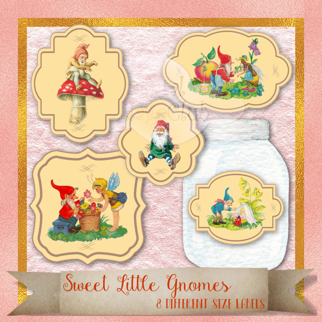 Prints Gift Tags 8.5 x 11 Victorian Images Vintage Christmas Graphics Collage Sheet Digital Scrapbooking ATC